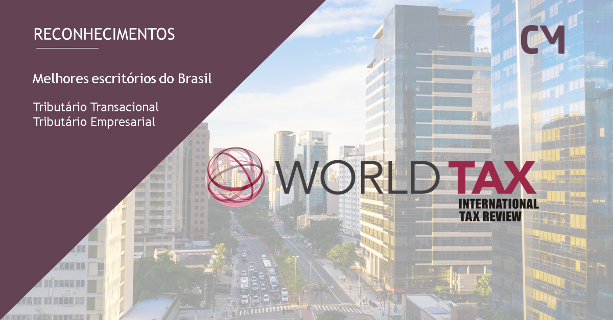 Candido Martins included among the leading Brazilian tax firms by ITR World Tax