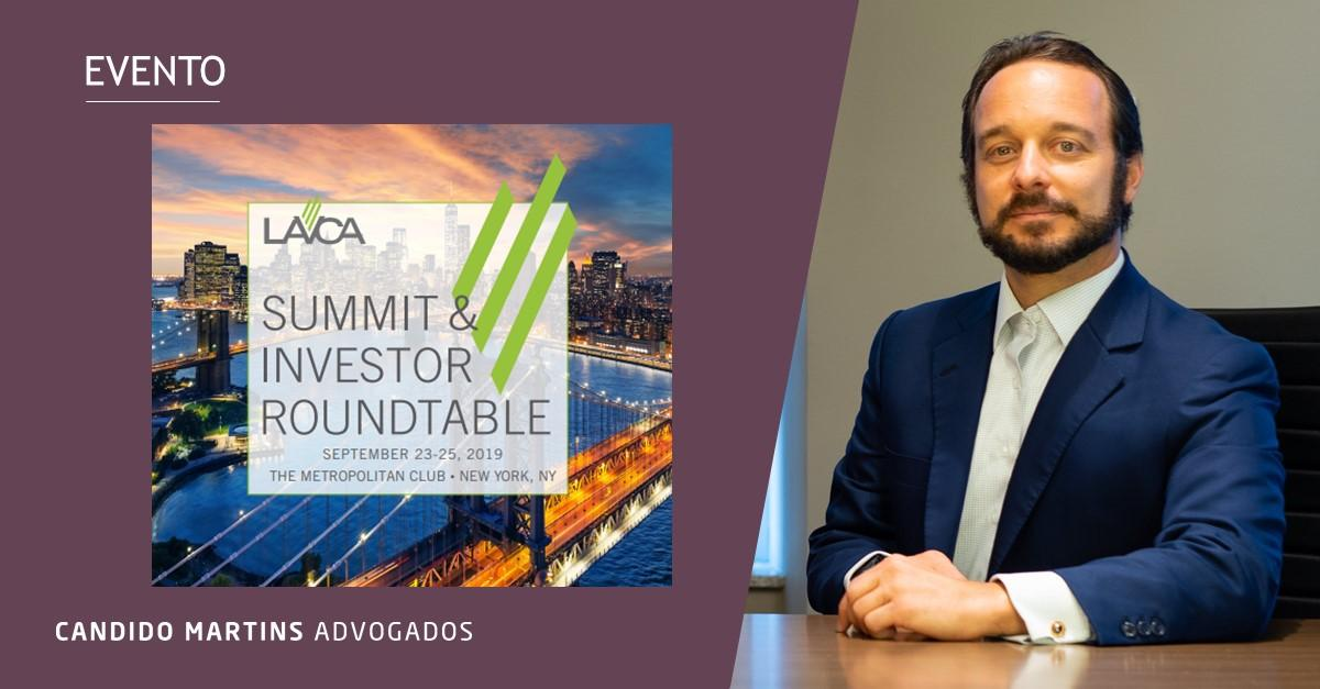 Candido Martins sponsors the LAVCA Summit & Investor Roundtable in New York