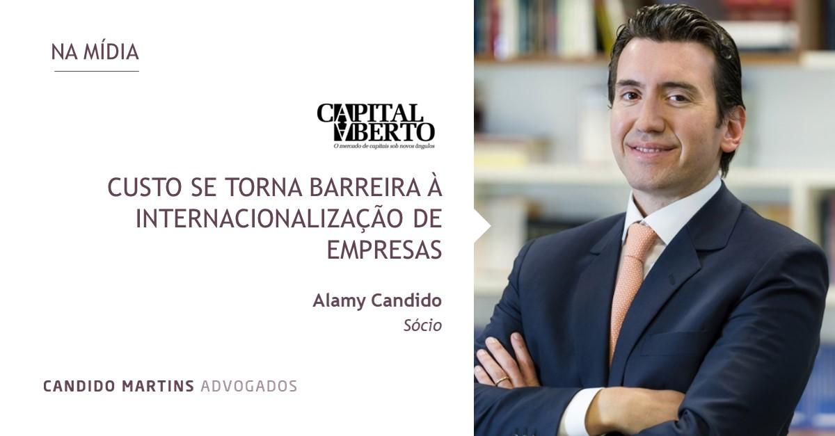 Alamy Candido debate custo de internacionalização de empresas em artigo na Capital Aberto
